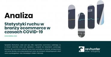 Statystyki ruchu w branży ecommerce w czasach COVID-19